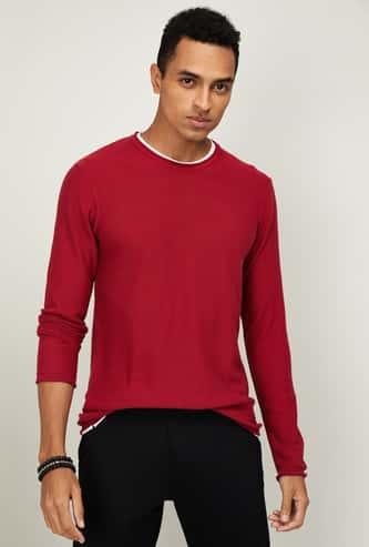 BOSINI Men Full Sleeves Sweater