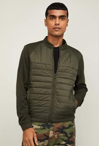 FAME FOREVER Men Solid Puffer Jacket
