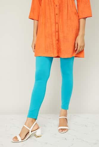 AURELIA Women Solid Leggings
