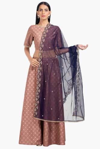 INDYA Women Embellished Dupatta