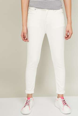 FAME FOREVER Women Solid Skinny Jeans