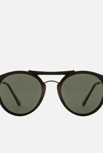 FEMINA FLAUNT Women Solid Polarised Oval Sunglasses - 9008-C1