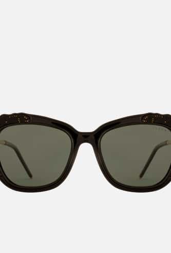 FEMINA FLAUNT Women Polarised Embellished Square Sunglasses - 9006-C1