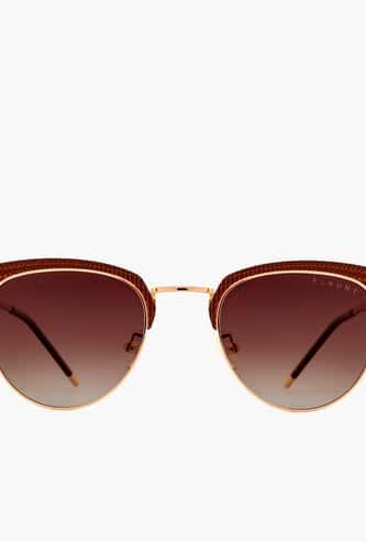 FEMINA FLAUNT Women UV-Protected Round Sunglasses- 9009-C1