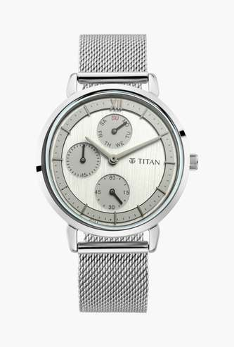 TITAN Neo V Women Water-Resistant Multifunctional Watch - 2652SM02