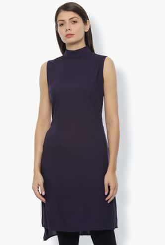 VAN HEUSEN Women Printed Sleeveless Straight Tunic
