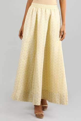 AURELIA Women Printed Elasticated A-line Maxi Skirt