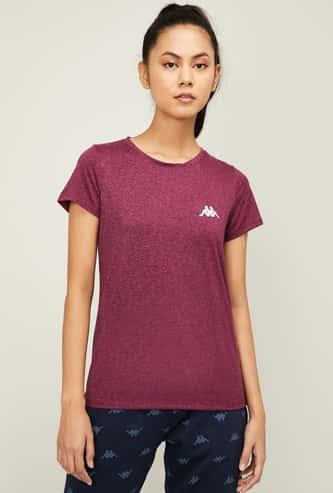 KAPPA Women Printed Short Sleeves T-shirt