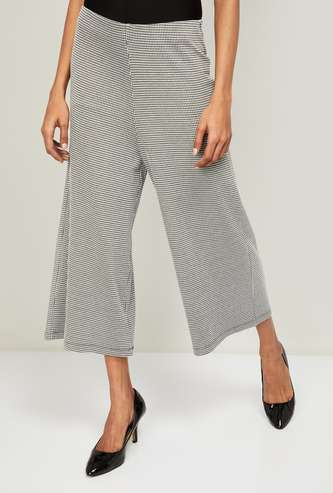 CODE Women Checked Culottes