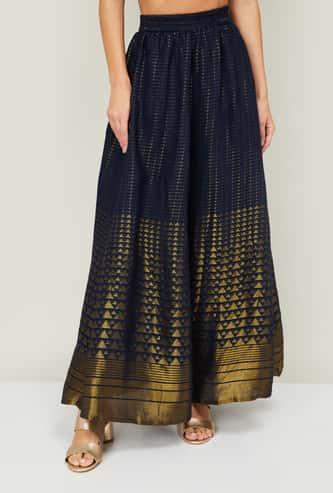 AURELIA Women Printed Elasticated Skirt