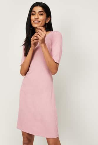 BOSSINI Women Solid Sweater Dress