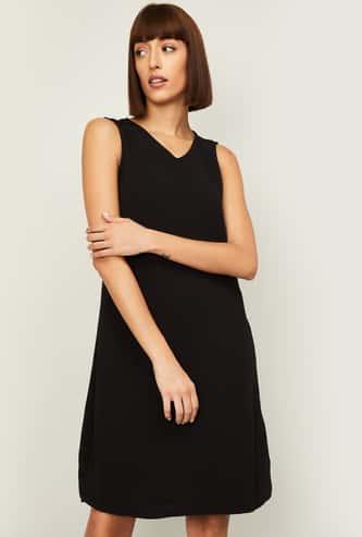 VERO MODA Women Solid A-line Dress