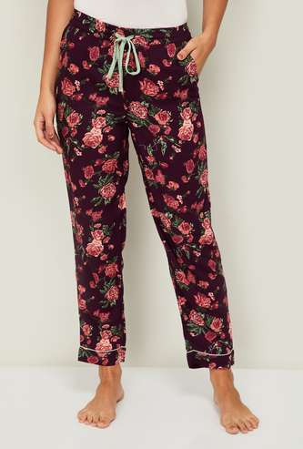 GINGER Women Floral Printed Lounge Pants