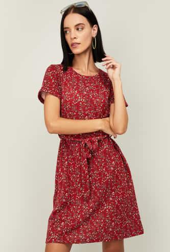 FAME FOREVER Women Printed Dress
