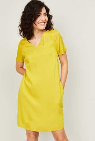 VERO MODA Women Solid Shift Dress