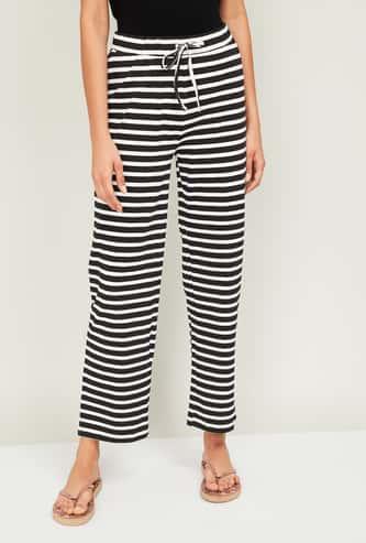 GINGER Women Striped Pyjama Pants