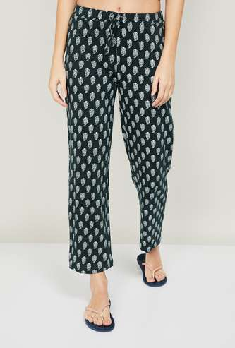 GINGER Women Printed Elasticated Pyjamas