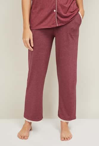 GINGER Women Solid Lounge Pyjama