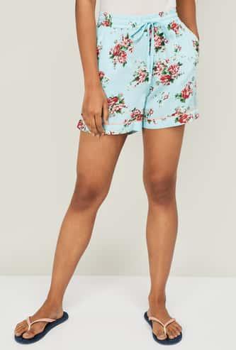 GINGER Women Floral Printed Lounge Shorts