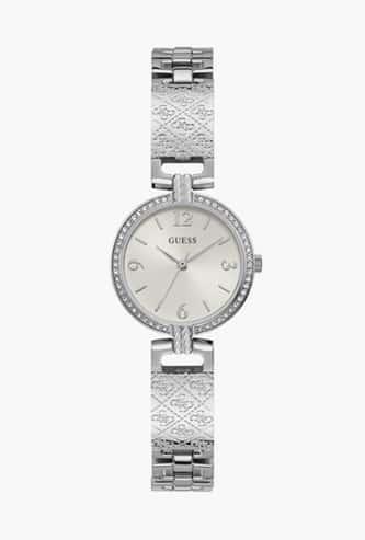 GUESS Women Embellished Analog Watch- GW0112L1