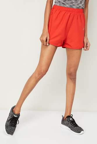 KAPPA Women Solid Sports Shorts