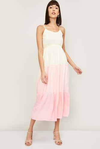 Ginger Women Colourblocked A-line Dress