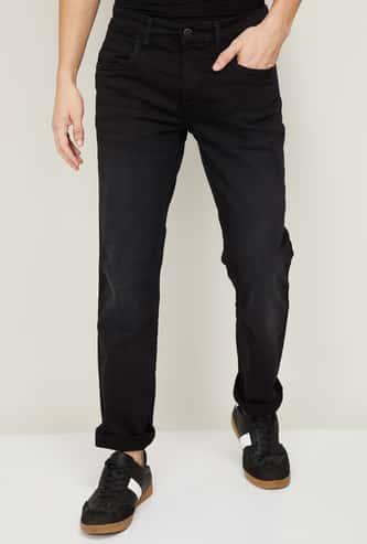 FORCA Men Stonewashed Slim Fit Jeans