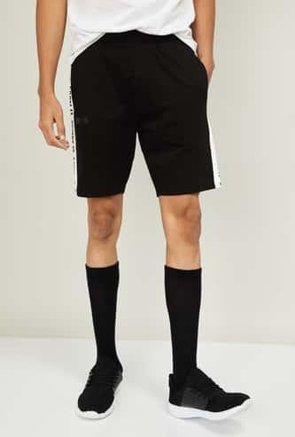 KAPPA Men Printed Elasticated Shorts