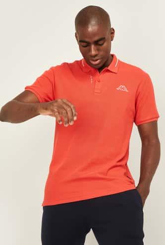 KAPPA Men Printed Regular Fit Polo T-shirt