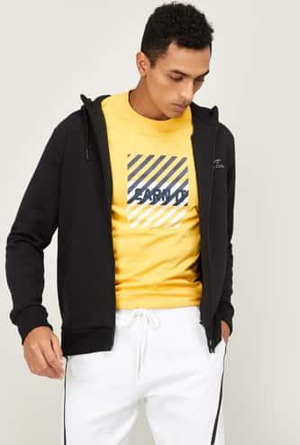 KAPPA Printed Regular Fit T-shirt with Long Sleeves