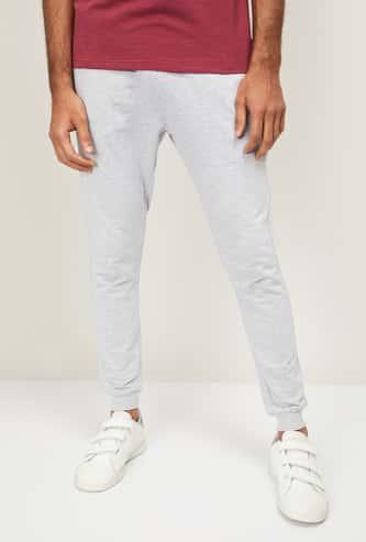 FORCA Men Solid Elasticated Track Pants