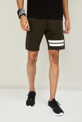 KAPPA Men Striped Sports Shorts
