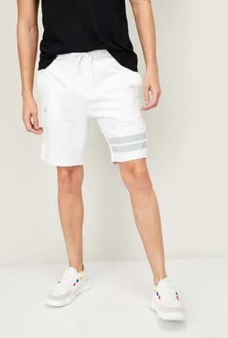 KAPPA Men Printed Regular Fit Elasticated Shorts