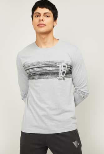 VAN HEUSEN Men Printed Lounge T-shirt