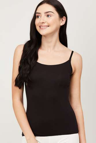 GINGER Women Solid  Knitted Camisole
