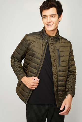 FAHRENHEIT Men Solid Puffer Jacket