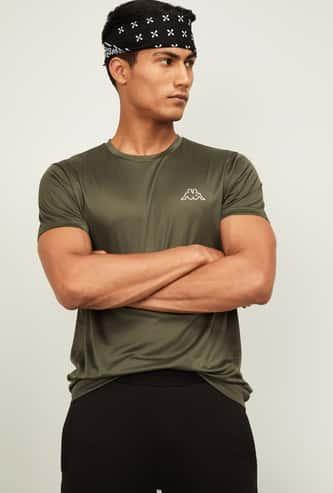 KAPPA Men Printed Regular Fit T-shirt