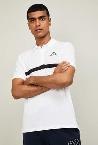 KAPPA Men Solid Regular Fit Polo T-shirt