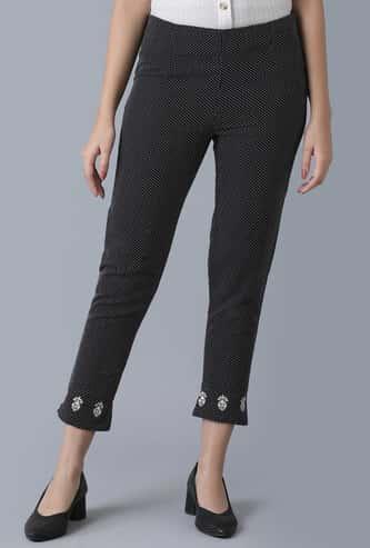 W Women Printed Straight Pants
