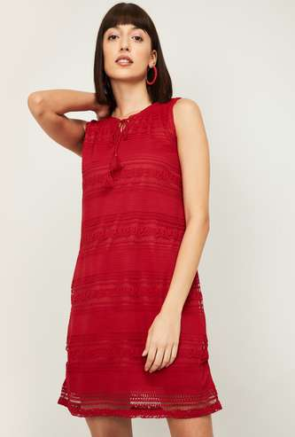 FAME FOREVER Women Lace Dress