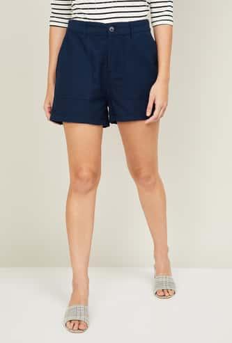 BOSSINI Women Solid Shorts