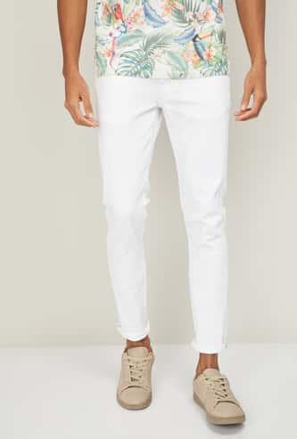 UCLA Men Solid Skinny Fit Jeans