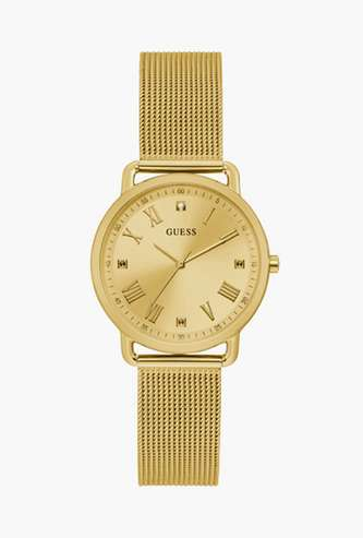 GUESS Solid Analog Round Dial Women's Wristwatch - GW0031L2