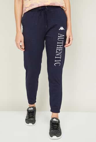 KAPPA Women Printed Elasticated Track Pants