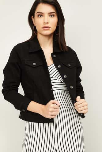 VERO MODA Women Solid Full Sleeves Denim Jacket