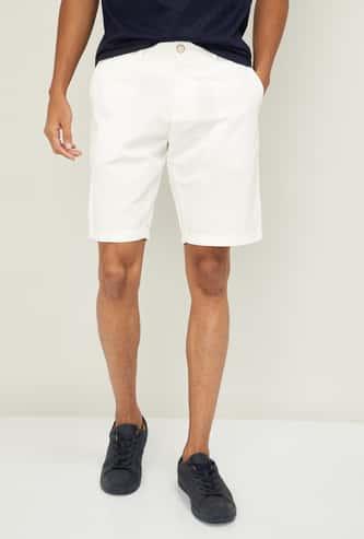 U.S. POLO ASSN. Men Solid Regular Fit Woven Shorts