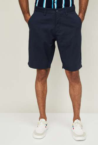U.S. POLO ASSN. Men Regular Fit Solid Shorts