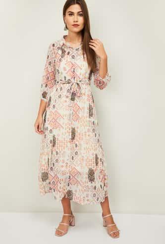 COLOR ME Raga Women Printed A-Line Dress