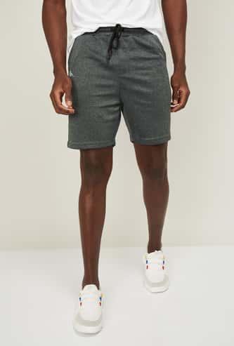 KAPPA Men Textured Elasticated Shorts