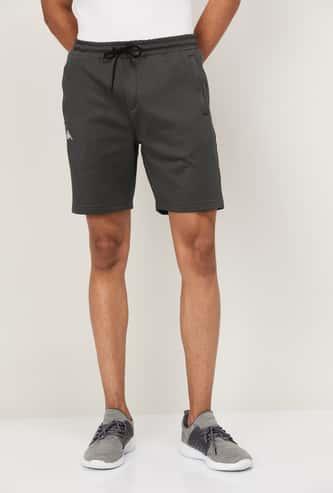 KAPPA Men Textured Knit Regular Fit Shorts